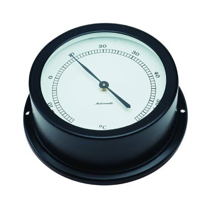 THERMOMETER,BLACK   50MM