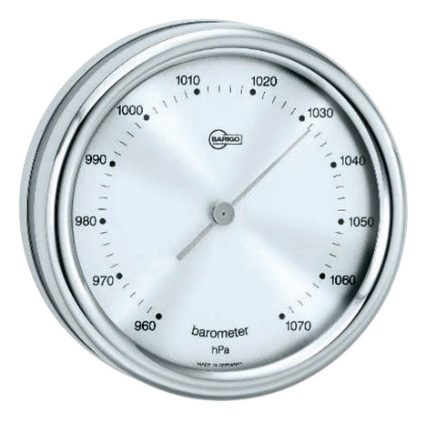 BAROMETER,STAINLESS 85mm