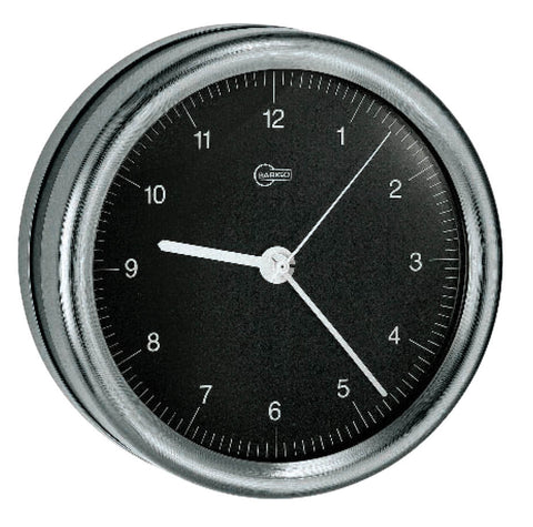 CLOCK,QUARTZ,SS 85mm