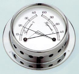 THERMOMETER/HYGROMETER 4""