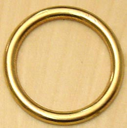 RING,NAVAL BRONZE  4 5mm