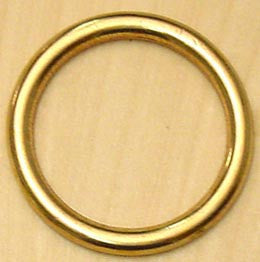 RING,NAVAL BRONZE 10 0mm