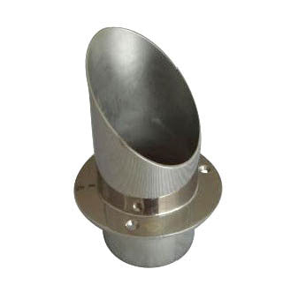 EXHAUST FLANGE,SS  100 MM