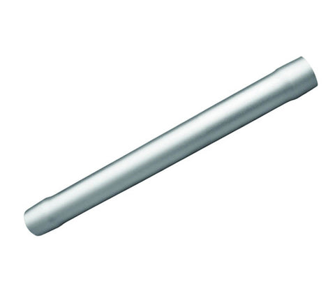PEDESTAL TUBE, FOR TABLE, ANODIZED ALUMINUM