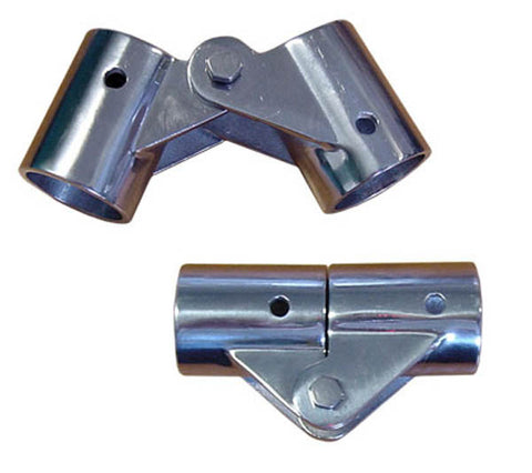 "HINGE,BIMINI FOR 7/8""TUBE"
