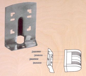 BRACKET,LIGHT SS304 FOR