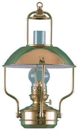 CLIPPER LAMP OIL  BRASS