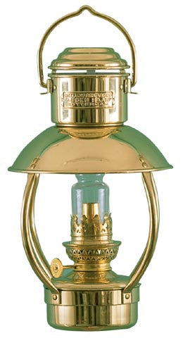 TRAWLERLAMP JNR BRASS/OIL