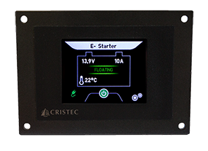 Cristec Control Panel Display for YPOWER Batter Chargers