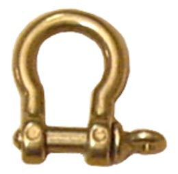 SHACKLE,BOW  BRASS   5mm