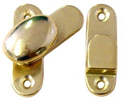 DOOR LATCH,POLISHED BRASS