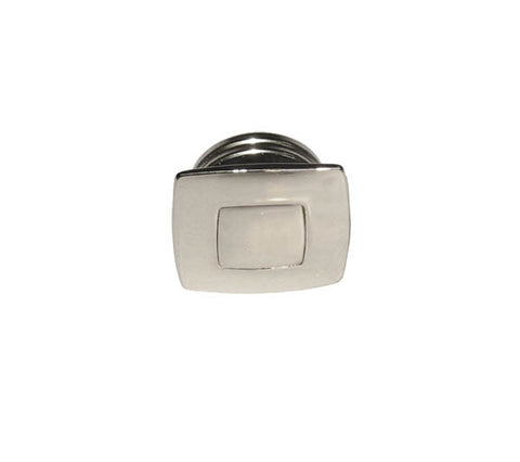 PUSH BUTTON&RING,CHROME