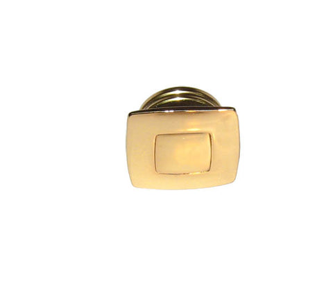 PUSH BUTTON&RING,  GOLD