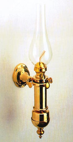 LAMP,GIMBALED OIL  BRASS