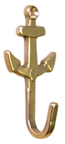 HOOK,KEY  ANCHOR   BRASS