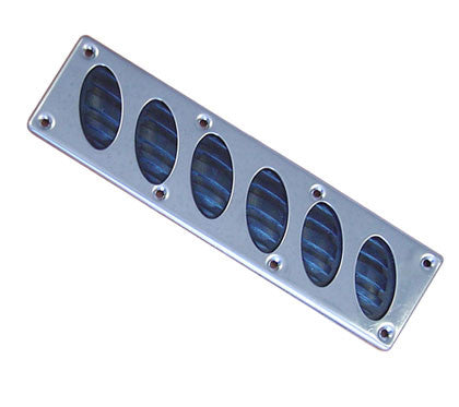 STEP PLATE,OVAL RUBBER/SS