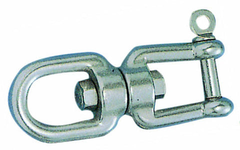 SWIVEL,JAW TO EYE SS 1/2""