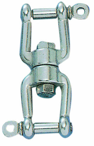 "SWIVEL,JAW TO JAW 1/2"" SS"