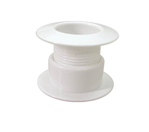 DRAIN,ADJUSTABLE WHITE