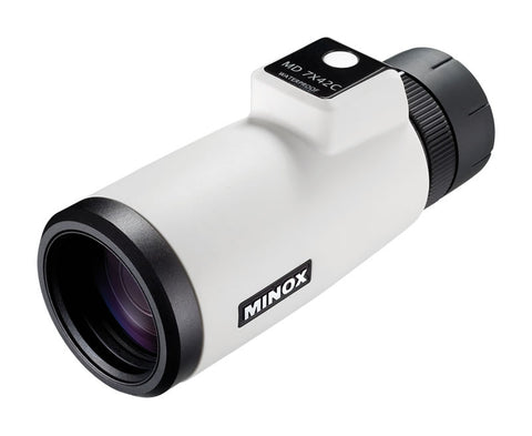 Minox Monocular MD 7x42 with Compass - White