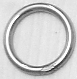 RING,SS 6 4MM X I/D 40MM
