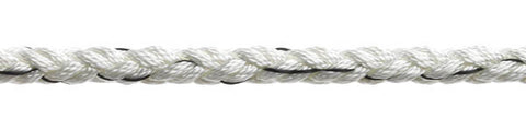 "MULTIPLAIT NYLON  ""WHITE"""
