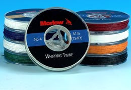 WAXED WHIPPING TWINE,BLK