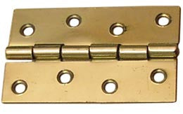 HINGE,BUTT POLISHED BRASS