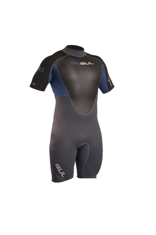 Gul Response 3/2mm Flatlock Shorti Wetsuit RE3319-B4