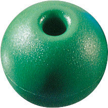 "PARREL BEAD,1-1/4"" GREEN"