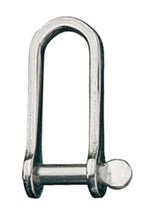 SHACKLE,LONG-D     3/16""