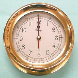 CLOCK,    PLAIN BEZEL 6""