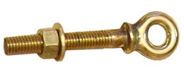 EYE BOLT,BRSS        3/8""