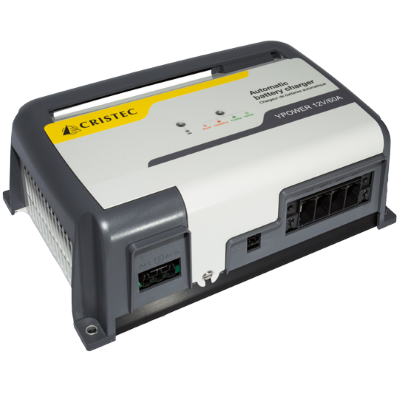 Cristec YPOWER Charger,12V/25A, 3 BANKS