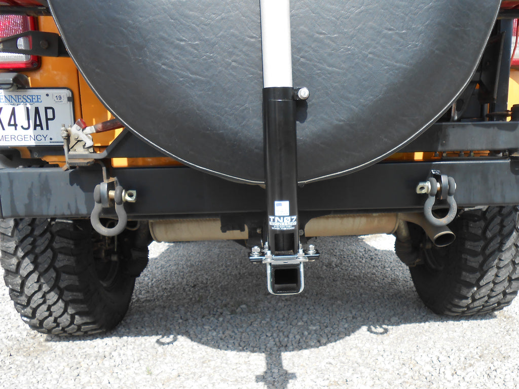 "2.0"" Hitch Mount with 23"" Hitch Extension & U-Bolts"