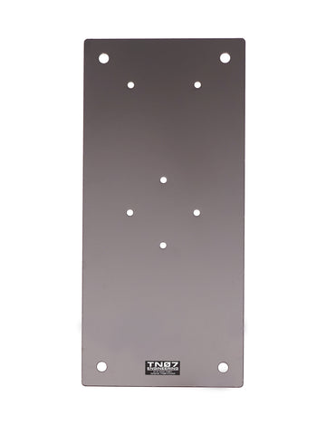 "Drive On / Ground Mount Plate - 10"" x 22 "" Steel Plate Only"