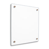 Double Panel Floating Frame - White
