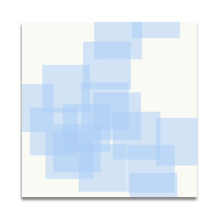 RANDOM RECTANGLES in Blue