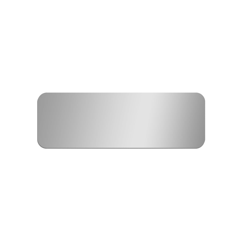 Long Rectangle Mirror with Rounded Corners