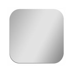 Square Mirror with Rounded Corners