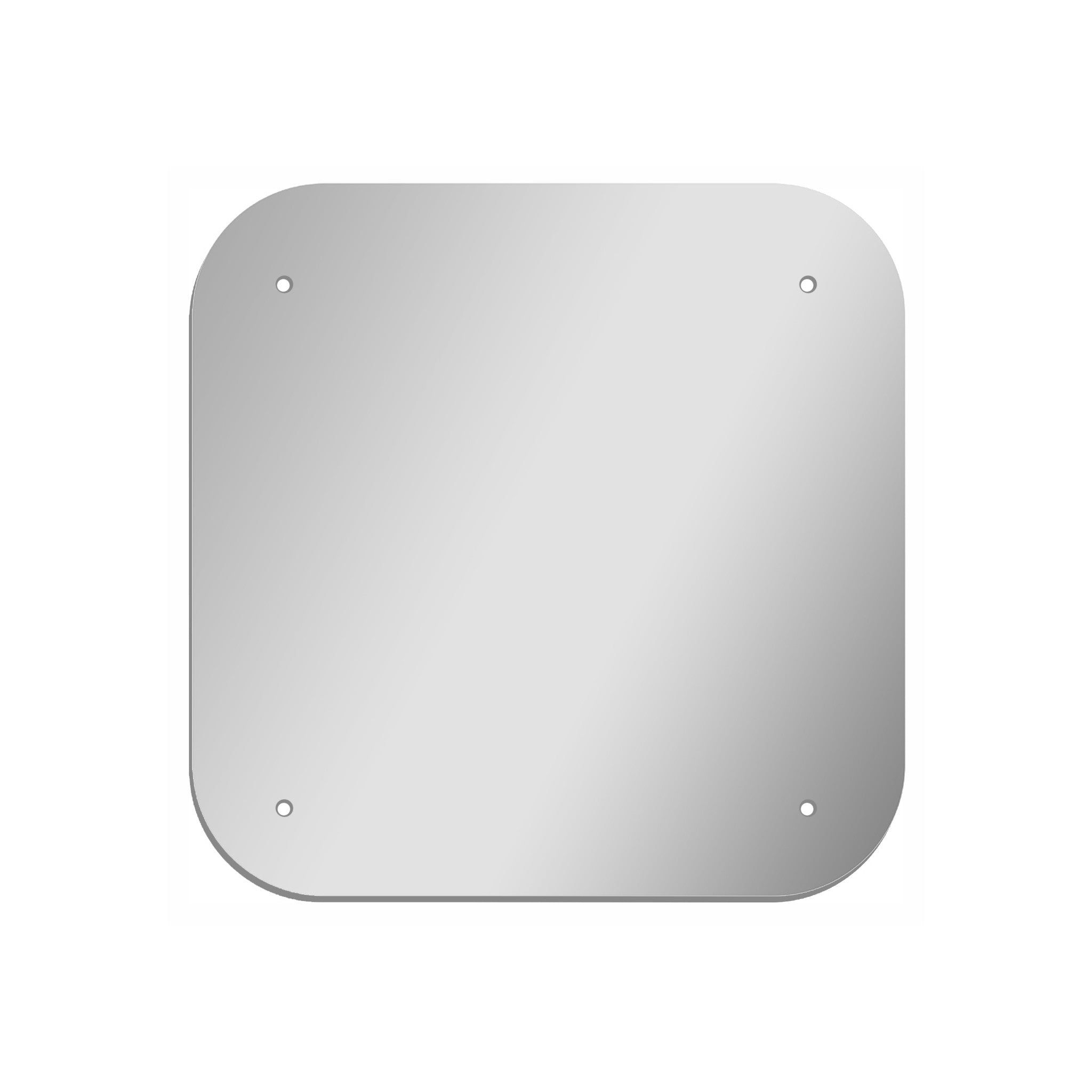 Square Rounded Corners 12 Quot Shatterproof Acrylic Plastic