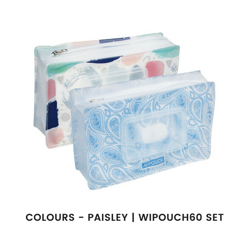 WIPOUCH - Refillable Wet Wipes Pouch