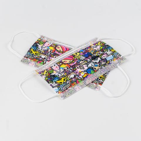 tokidoki Disposable Face Mask - Iconic
