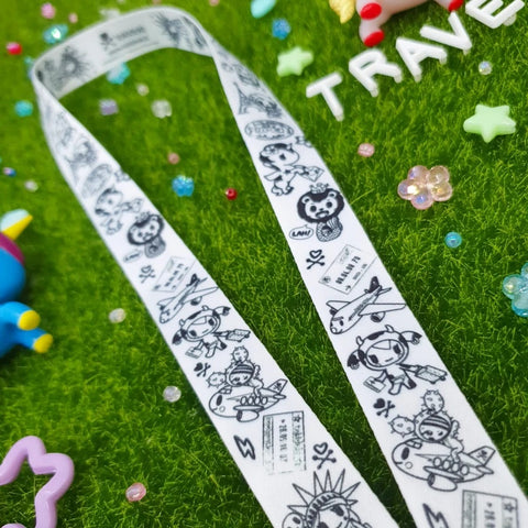 tokidoki Mask Strap - Travels