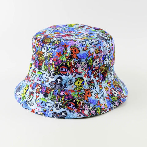 tokidoki Reversible Sun Hat - Safari