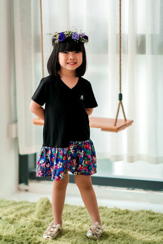 tokidoki [ Our Singapura Collection ] - Asymmetric Hem Dress