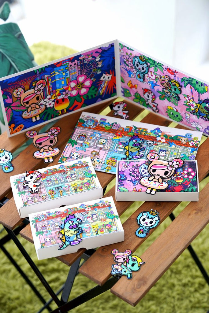tokidoki [ Our Singapura Collection ] - Collectible Iron-on Folio