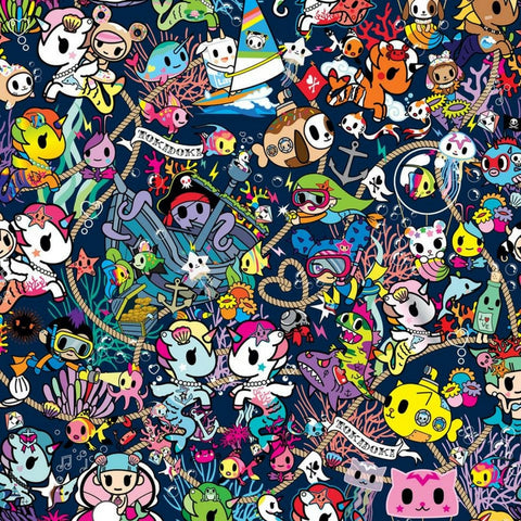 Ju-Ju-Be x tokidoki - Sea Punk