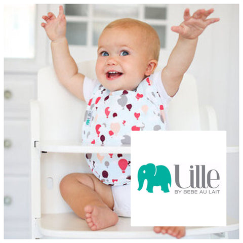 Bébé au Lait for Lille - Quadruple Bibs