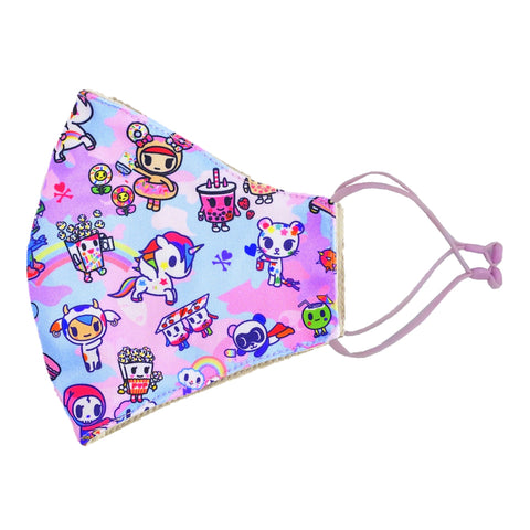 tokidoki Anti-Bacterial Reusable Mask - Pastel Camo